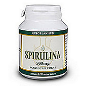 Cytoplan Spirulina 120 Tablets