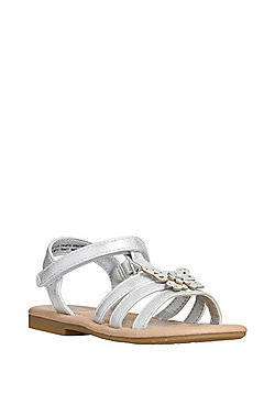 F&F Butterfly Gladiator Sandals - Grey