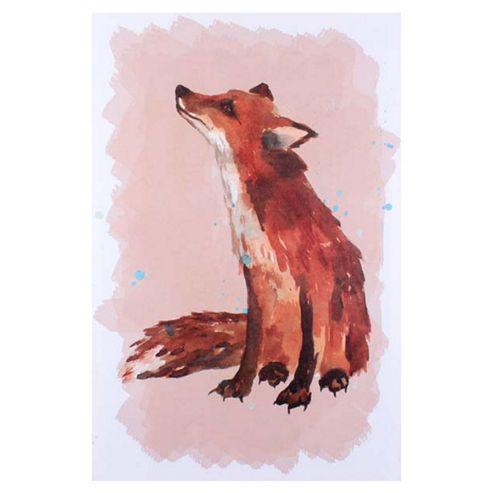 Artistic Britain Fox by Alison Fennel Wall Art