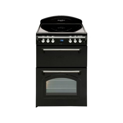 Leisure GRB6CVK, 600mm, Black, Electric Cooker
