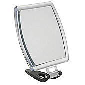 Famego 5x Magnification 19cm Folding Travel Mirror in Smoke