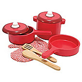 Melissa and Doug Wooden Kitchen Accessory Set