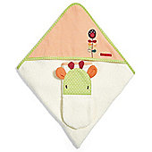 Mamas & Papas - Jamboree - Hooded Towel & Mitt