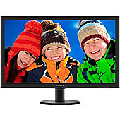 Philips 273V5QHAB 27 Full HD LED LCD Monitor 4ms 16:9 Speakers HDMI VGA DVI