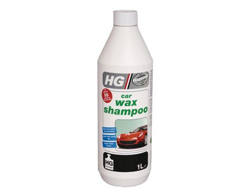 Hg Car Wax Shampoo 1Ltr