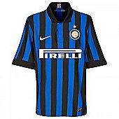 2011-12 Inter Milan Home Nike Football Shirt (Kids) - Black