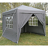 Airwave Pop Up Gazebo Fully Waterproof 2.5x2.5m in Grey