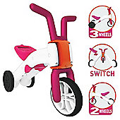 Chillafish Bunzi 2 in 1 Balance Bike, Pink