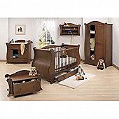 Tutti Bambini Marie 7 Piece Room Set - Walnut