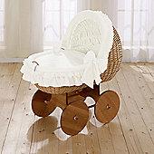 Leipold Noblesse Nostalgic Crib in Beige