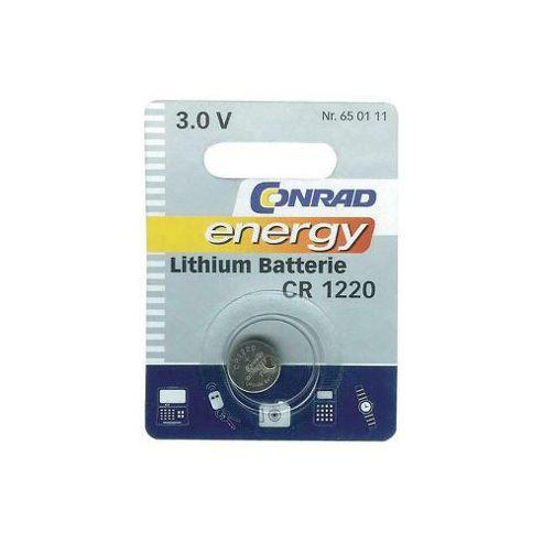 Conrad CR1220 Lithium Button Cell Battery
