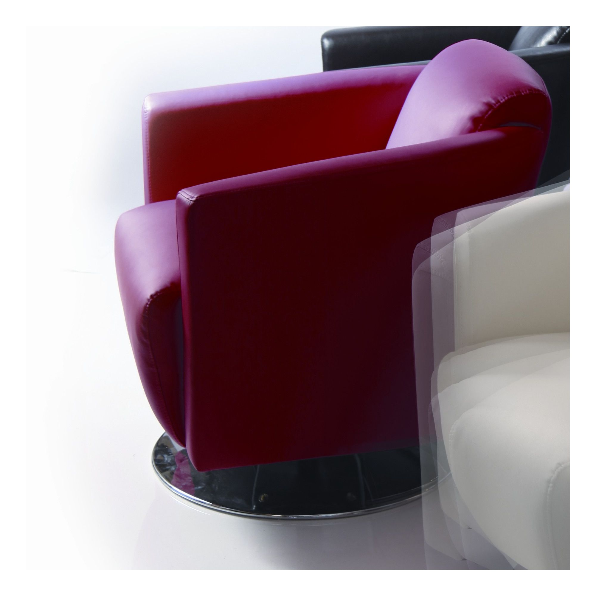 Wilkinson Furniture Pluto Swivel Tub chair - Red at Tesco Direct