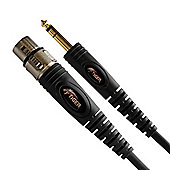 Tiger 3 Metre XLR to Jack Microphone Cable
