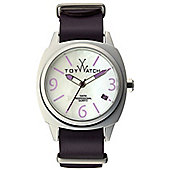 ToyWatch Icon Unisex Leather Date Watch IC01PR