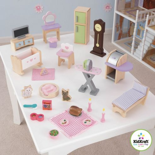 KidKraft Deluxe Dollhouse Set