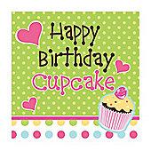 Happy Birthday Paper Luncheon Napkins 3ply