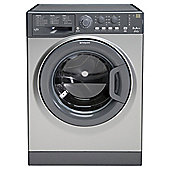 Hotpoint WMYL8552G Washing Machine, 8kg Wash Load, 1600 RPM Spin, A++ Energy Rating. Graphite