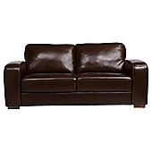 Idaho Medium Sofa Leather Antique Chocolate