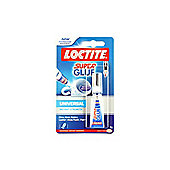Loctite Super Glue Liquid Tube 3g Ref 80001601
