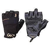 GoFit Diamond Tac Weightlifting Glove Black X LARGE