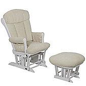 Tutti Bambini Rose Glider Chair - White