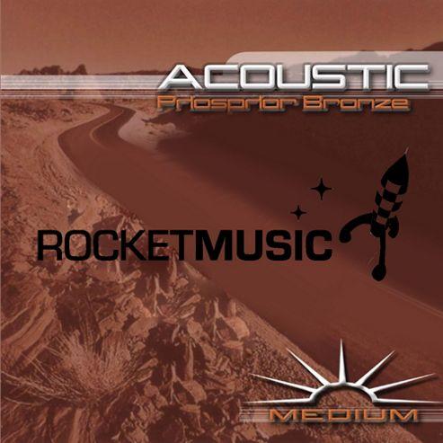 Rocket Phosphor Bronze Acoustic String Set - Medium