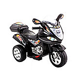 Childrens Trike 6v Ride On Toy, Black