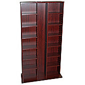 Techstyle CD DVD Media Storage Shelves - Mahogany