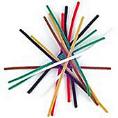 Chenille 9mm Astd - 15 Pk aka Pipe cleaners