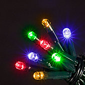 Battery Operated 200 Multi-Colour Chaser Lights
