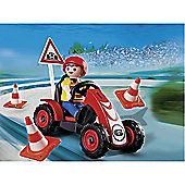 Playmobil - Boy with Racing Cart 4759