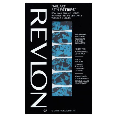 Revlon Nail Art Style Strips Splatter Paint