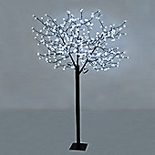 1.8m Outdoor LED Cherry Blossom Tree with 384 Cool White LED's