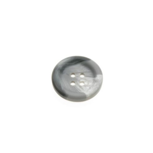 Dill Buttons 23mm Round Recess Grey Marble