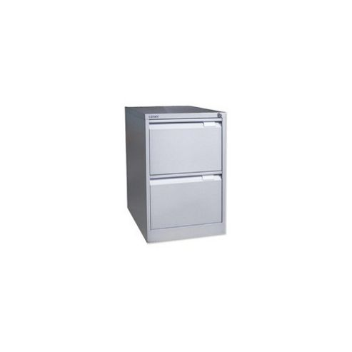 Bisley 2-Drawer Foolscap Filing Cabinet - Grey