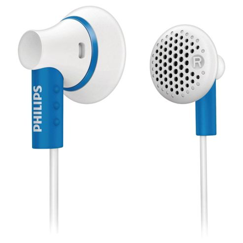 Philips SHE3000 Ear Bud Headphones - Blue