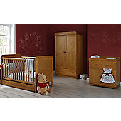 Disney Winnie the Pooh 3 Piece Double Furniture Set - Country Pine