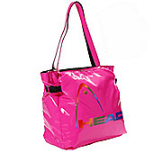 Head Fusion Glossy PU Shopper Tote Shopping/Handbag