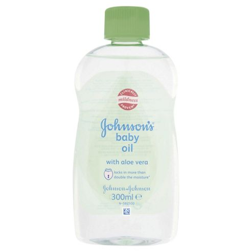 buy johnsons baby aloe vera oil 300ml from our creams. Black Bedroom Furniture Sets. Home Design Ideas