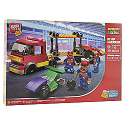 Block Tech Motorsport Racing Pit Stop Transporter