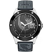 Marc Ecko Mens Black Rubber Strap Watch E09520G4