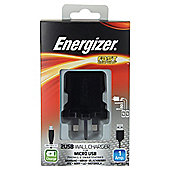 Energizer Micro USB Cable & 2 USB Charger