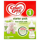 Cow & Gate First Infant Milk From Newborn Starter Pack