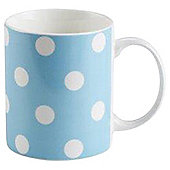 Tesco blue Spot Mug Single
