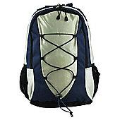 Tesco Rucksack, Blue 25L