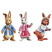 Peter Rabbit Figures, 3 Pack
