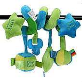 Label Label Spiral Toy (Green/Blue)
