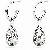 Lily & Lotty Sterling Silver 0.01ct Diamond FLORENCE Earrings