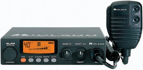 Maplin Midland 78 Plus CB Transceiver 80 Channel Radio