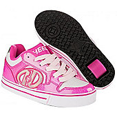 Heelys Motion Boys/Girls Roller Skating Shoe Trainer Choose Colours JNR 12-UK7 - Pink